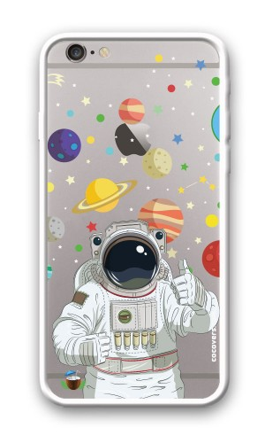 iPhone 6/6S Plus Astronot Desenli Kapak