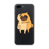 iPhone 7 Plus Pugs Hugs Kapak