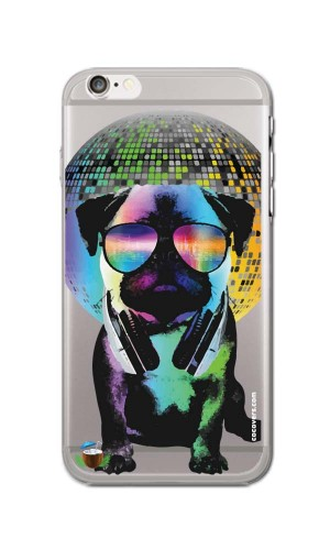 iPhone 6/6S Disco-Pug